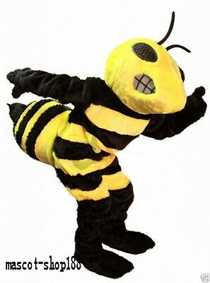 Hot selling Fierce Hornet Adult Mascot Costume fancy dress For Festivals party