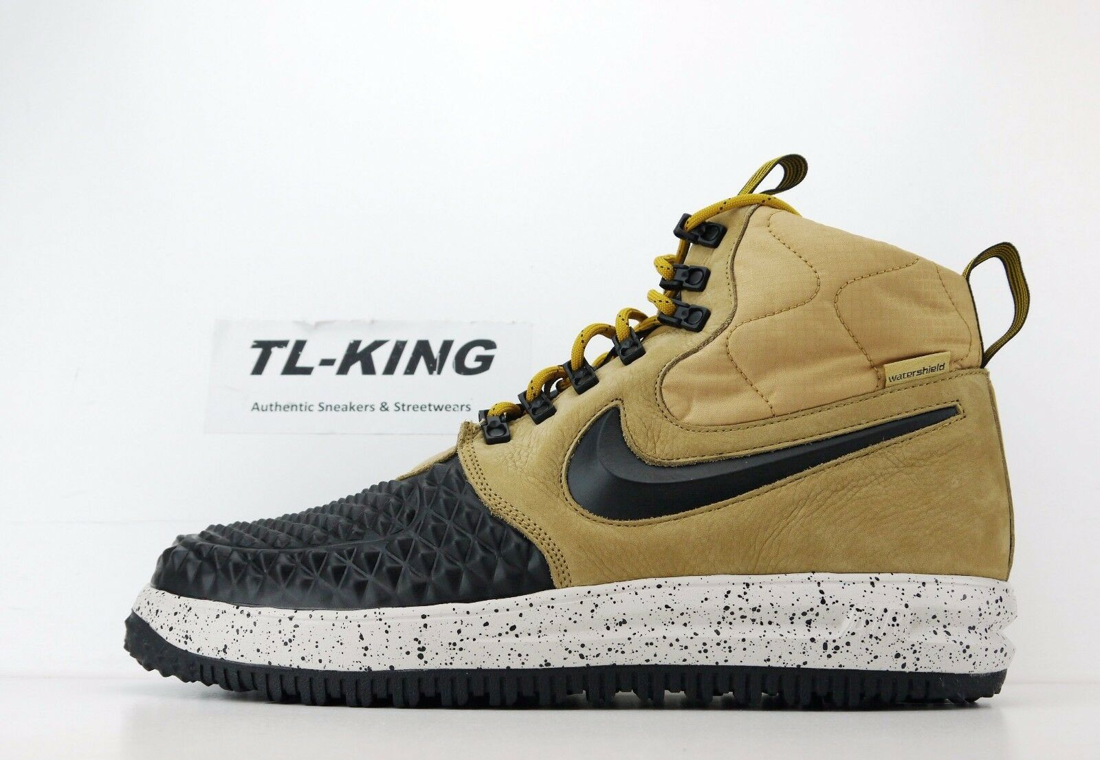 Nike LF1 Lunar Air Force 1 Duckboot AF1 Metallic gold Black Bone 916682 701 EU