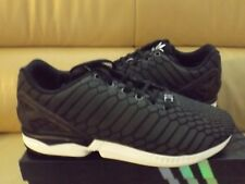 c128386cce7ab ... free shipping adidas zx flux mens shoes size 11 xeno reflective black  white b24441 78418 1ed62