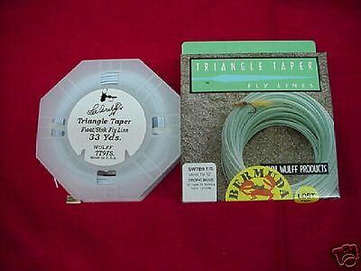 Royal Wulff Fly Line Bermuda TriangleTaper Lost Tip NEW