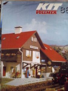 Depliant Vollmer Novità H0 1988 DEU