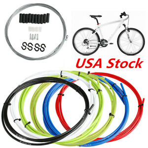 Universal Bicycle Front Rear Inner Outer Wire Brake Gear Housing Cable for Bike