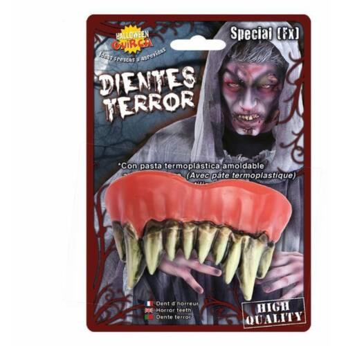 Special FX Zombie Bad Rotten TEETH Thermoplastic Halloween Fancy Dress