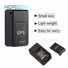 Gf07 Magnetic Gsm Mini Spy Gps Tracker Real Time Locator Device For Car Senior