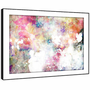 AB969 Retro Colourful Cool Modern Abstract Canvas Wall Art Large Picture Prints