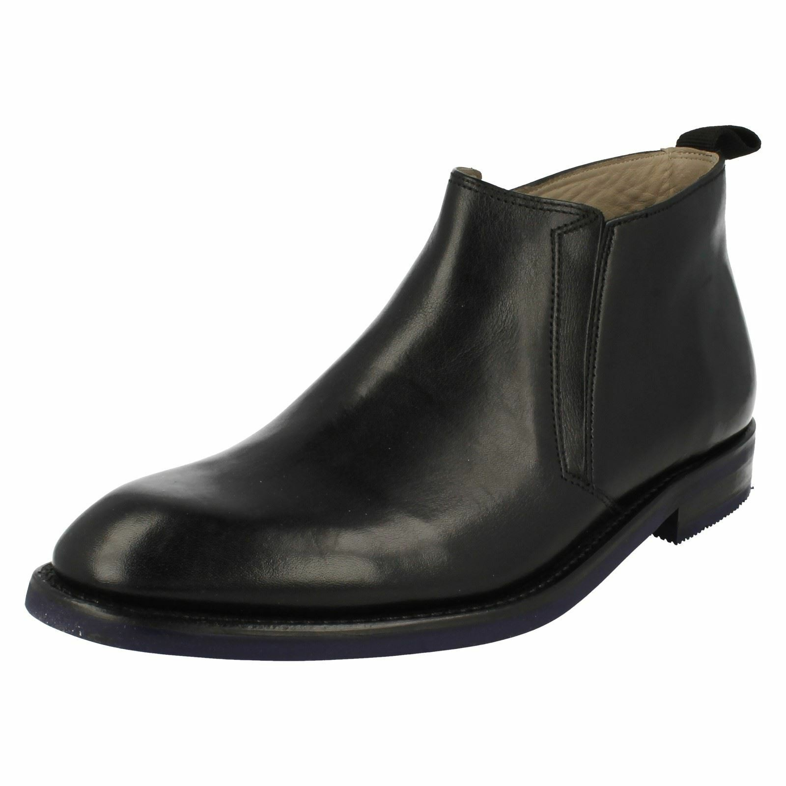 Mens Clarks Formal Pull On Boots 'Swinley Mid'