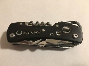 Black-Stainless-Steel-Swiss-Camping-Multi-Purpose-Pocket-Knife