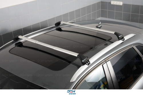 Für Subaru Outback III Kombi 04-09 mit geschlossener Dachreling Dachträger