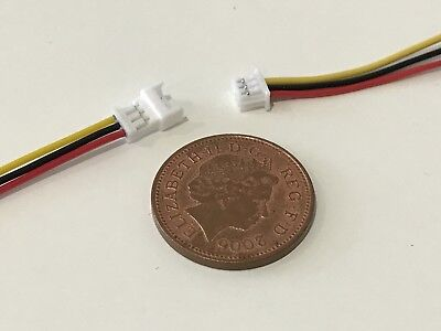 Decoder 3x Plug /& Socket Connector 4 Pin For DCC TTS Zimo Loksound Lights