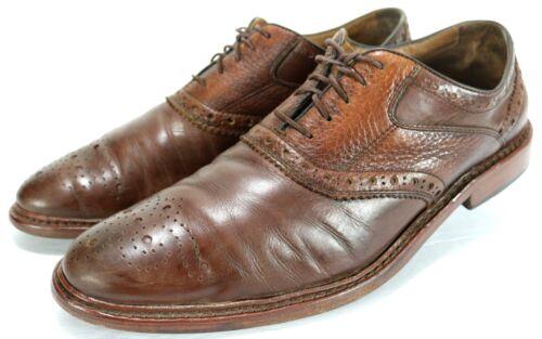 Dress 10 Oxfords Saddle Shoes 180 Murphy Johnston Leather Brogue Size 1850 q6BnT