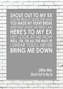 The ex lyrics