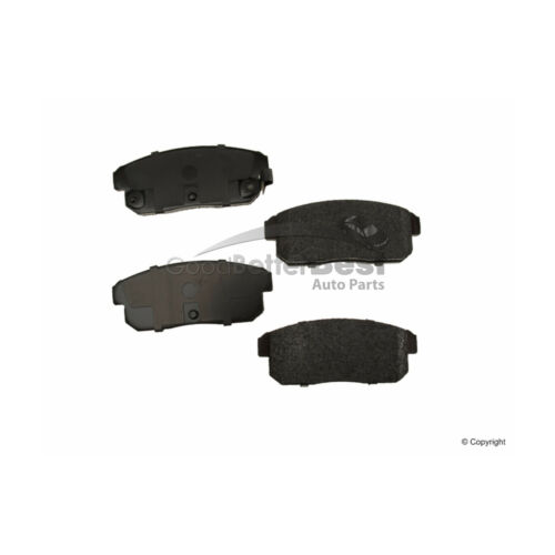 New OPparts Semi Met Disc Brake Pad Set Rear D10088313BR2102 for Mazda RX-8