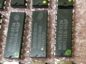Mostek MK4116N-44GP 16K DRAM 9 chips per order