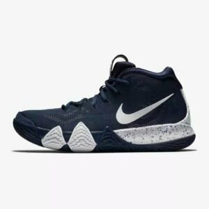 859a107484b Details about Nike Kyrie 4 TB Mens Size 10.5 Basketball Shoes AV2296 402  Blue Bank Collection