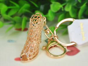 KC173-Gold-High-heeled-Shoes-Keyring-Womens-Fashion-Pendant-Keychain-Bag-Gift