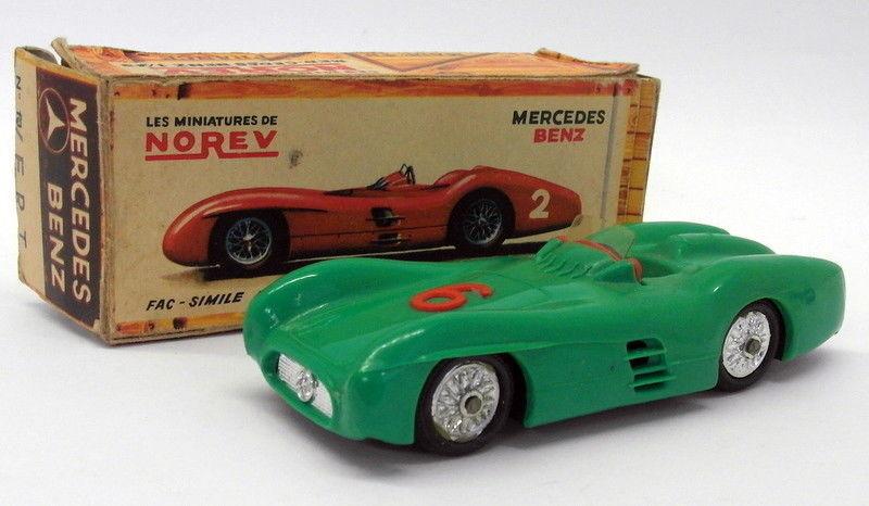Norev 1 43 Scale Vintage Plastic - 13 Mercedes Benz Competition vert  6