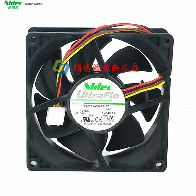 Wholesale Original For Nidec 9CM D09R-12TU 01 12V 0.20A 9025 computer chassis cooling fan