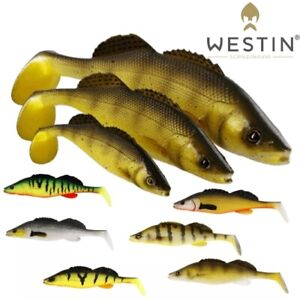 NEW-2020-Westin-ZanderTeez-Soft-Plastic-Lure-8-5cm-12cm-17cm-Paddle-Tail-Shad-UL