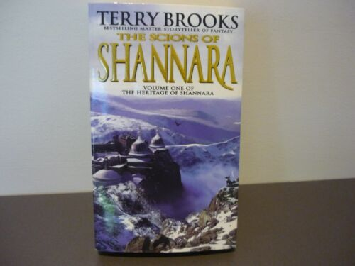 1 of 1 - TERRY BROOKS FANTASY - THE SCIONS OF SHANNARA - BK 1 HERITAGE OF SHANNARA