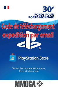 30-EUR-Carte-PlayStation-Network-30-EURO-PSN-Code-Jeu-Compte-francais-FR