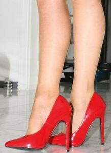 Fashion Cm Numero Decollete Tacco Dal Al 35 Scarpe 13 Sexy Hot Rosse 7wUSHnq