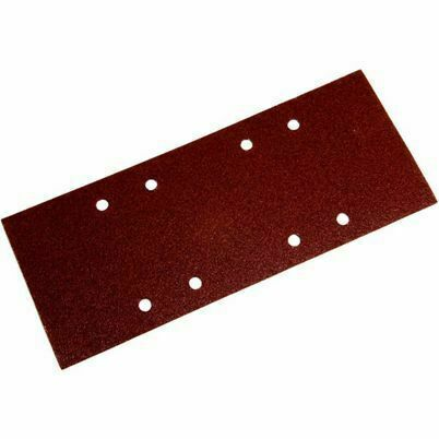 1/2 Orbital Sanding Sheet Coarse - Pack Of 10