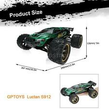 GPTOYS Luctan S912 1/12 High Speed 2.4G 2WD Monster Truggy Off Road RC NEW W8O9