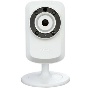 D-Link-Wireless-Day-Night-Cloud-IP-Smart-Security-Camera-White-DCS-932L-B-New