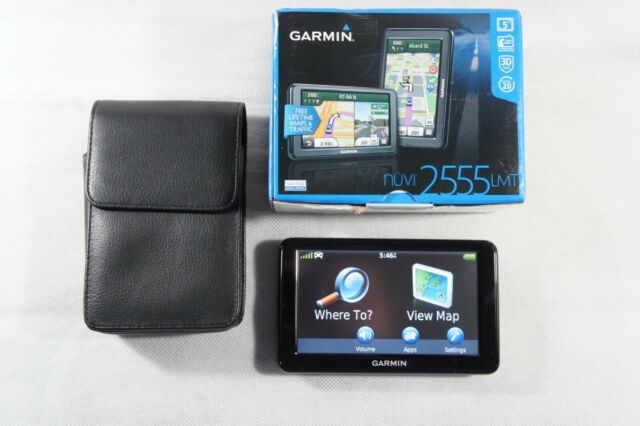 GARMIN NUVI 2555 LMT GPS Only, in Box, Free 2-3 Day Ship!!!