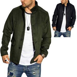 Capuchon Homme Détails Streetwear Jackamp; D'hiver Manteau Sur En Court Avec Jones Laine Veste wPknO0