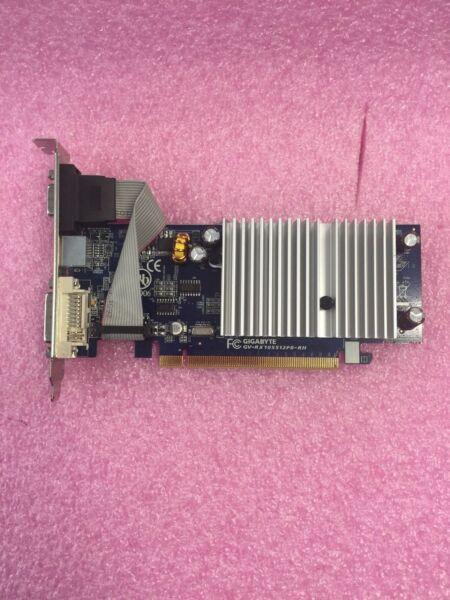 *tested* Gigabyte Gv-rx105512p8-rh 512mb 64-bit Gddr2 Pci Express Video Card Grote Uitverkoop