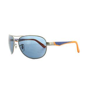 e7f691845d Ray-Ban Junior Sunglasses 9534S 241 80 Gunmetal Blue Orange Blue
