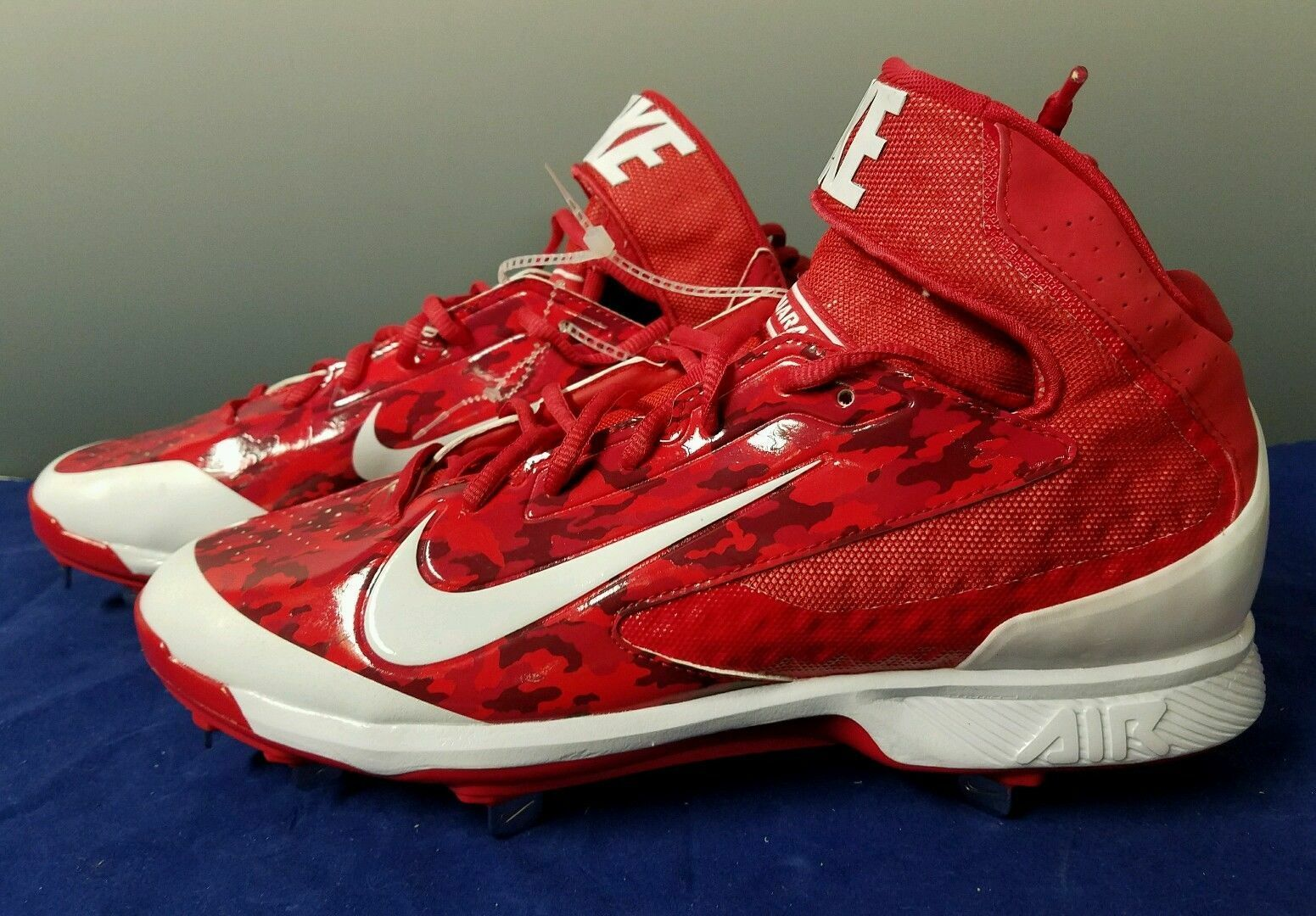 Nike Air Huarache  Pro Metal mediados De Metal Béisbol Universidad Rojo blancoo 599235-699  Tienda 2018