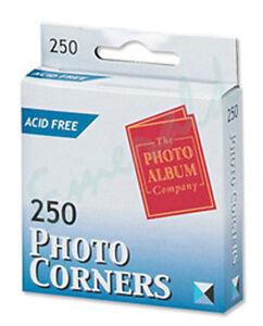 250-Photo-Corners-Transparent-Acid-Free-The-Photo-Company-Same-Day-Dispatch