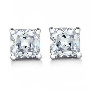 Image Is Loading Cool Silver White Gold Filled Flawless Cubic Zirconia
