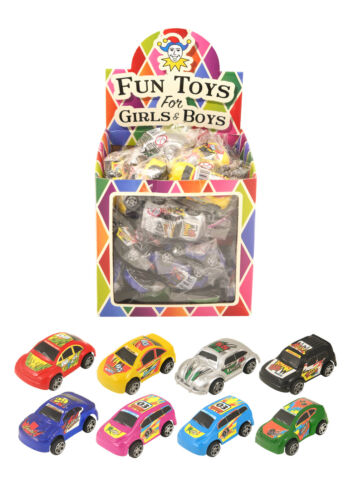 PULL BACK MINI CARS CHILDREN LOOT GOODY PARTY BAGS PINNATA FILLERS TOYS