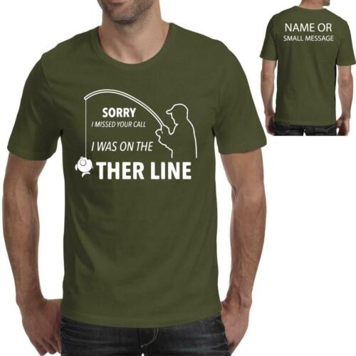 Fishing Other LineMens Funny Birthday Gift Graphic Printed T-Shirt Tee top