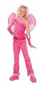 Hot-Pink-Fuchsia-Devilicious-Diva-Princess-Dress-up-Maribou-Trim-Costume-w-Wings