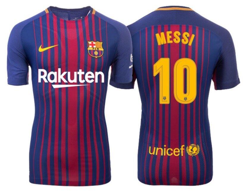 Trikot Nike FC Barcelona 2017-2018 Home - Messi 10    Barca 8d3866