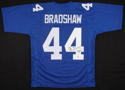 Ahmad Bradshaw Signed New York Giants Blue Jersey (Gridiron Legends COA)   eBay