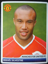 Panini 62 Mikael Silvestre Manchester United UEFA CL 2006/07