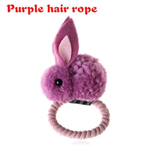 band mädchen haarspange die kaninchen frauen haare seil halter gummi