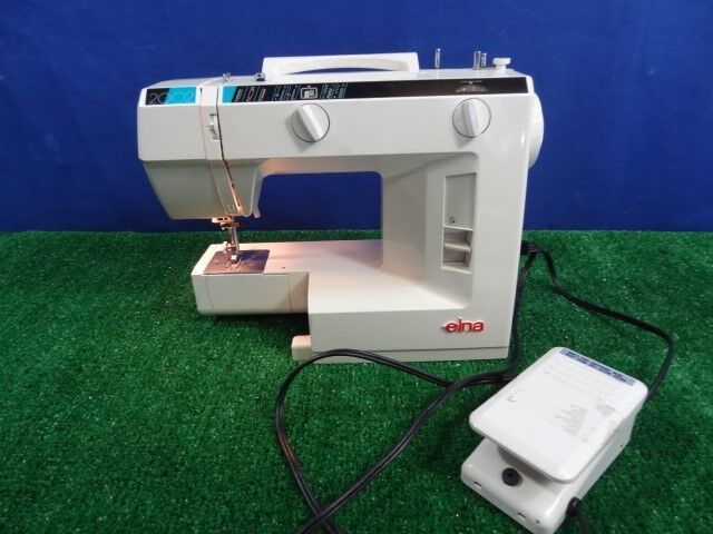 Elna 40 Sewing Machine With Power Cord Foot Pedal Working EBay Beauteous Elna Sewing Machine Models