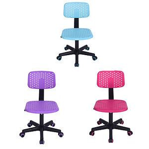 Computer Desk Writing Chair for Kids School Teen Dorm 3 Colors Best Xmas gift