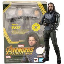 S.H.Figuarts Avengers Infinity War Bucky Action Figure BANDAI F//S