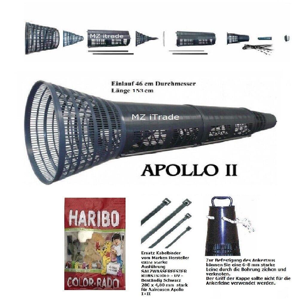 AALREUSE aalkorb cancro Cesto Trap Apollo II  COLTELLO Mammut ankertau FASCETTA Har