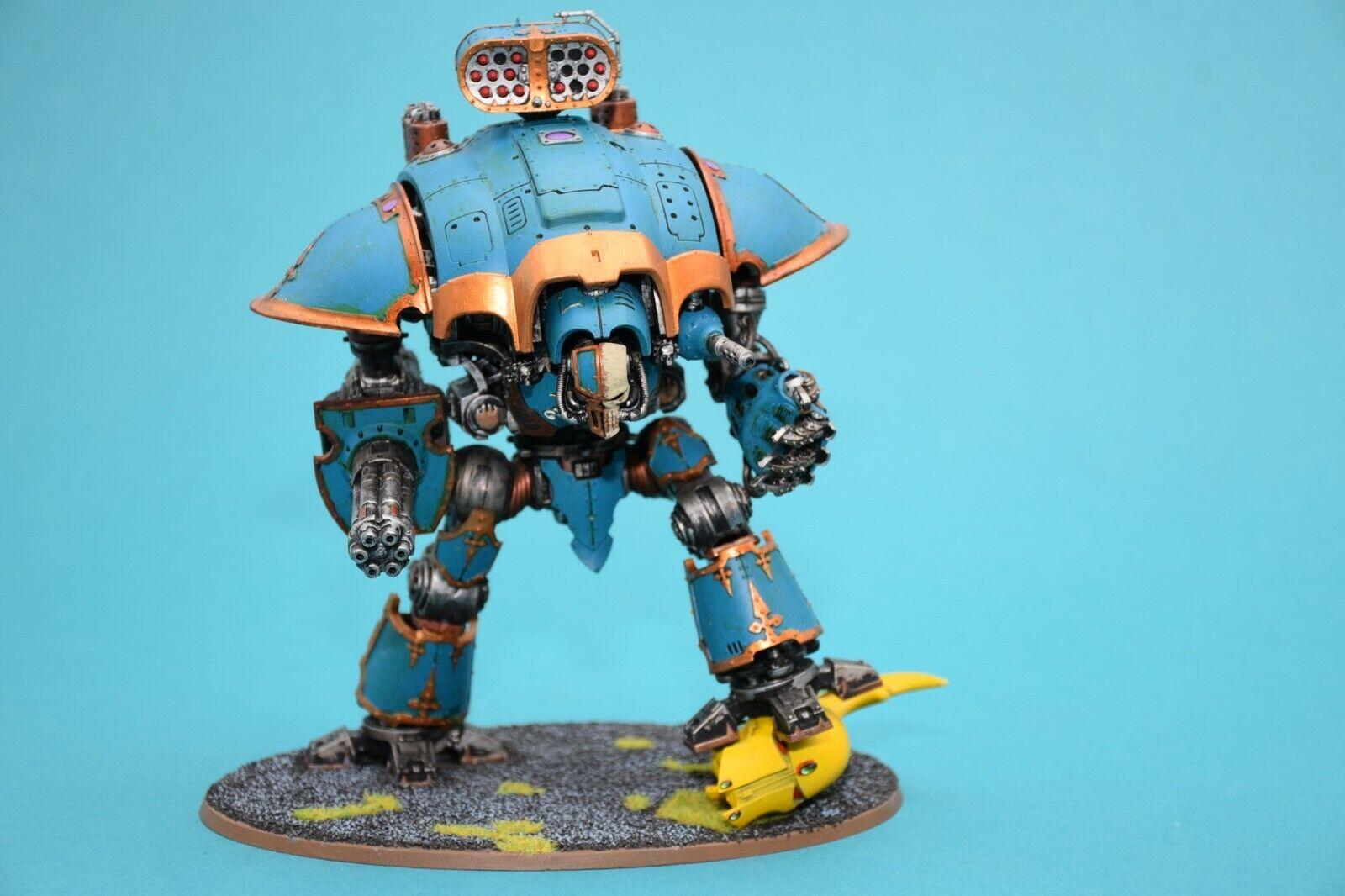 Warhammer 40k imperial Knight  Warden Chaos Knight-Painted  -  profitez de 50% de réduction