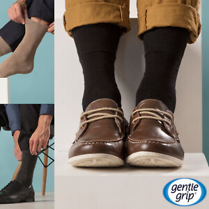 8c916e7ad26f 6 Pairs Mens SockShop BIGFOOT Gentle Grip Non Elastic Cotton Socks ...