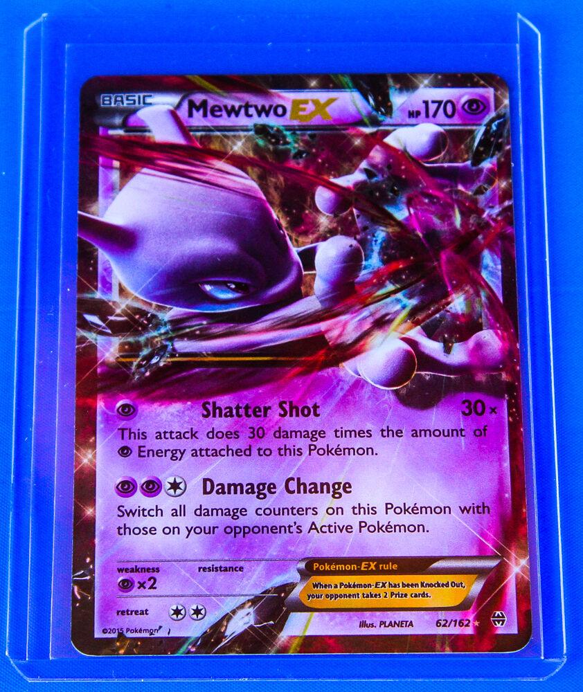Pokemon Mewtwo EX 62/162