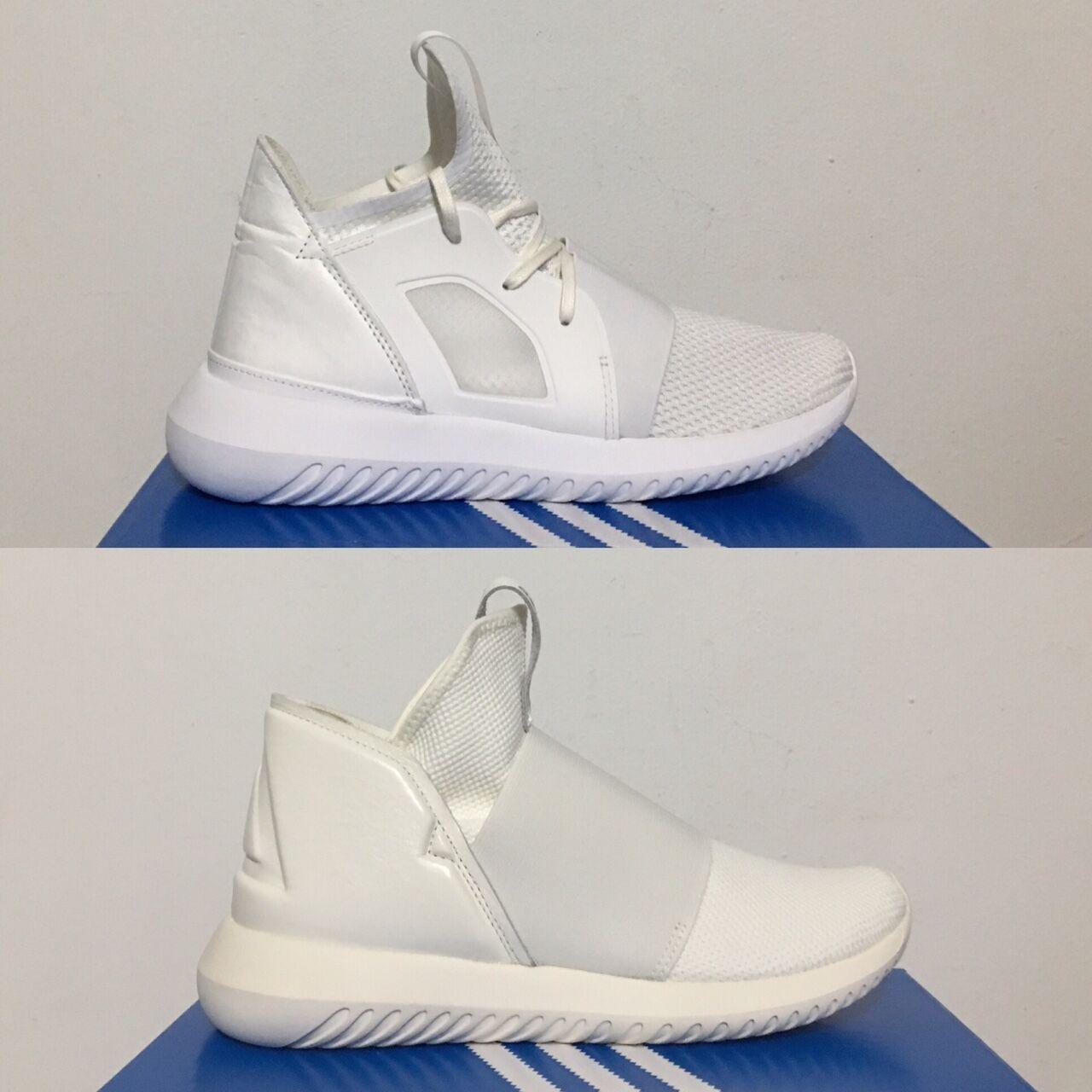 Adidas Tubular Defiant T W Womens Running White  Core white